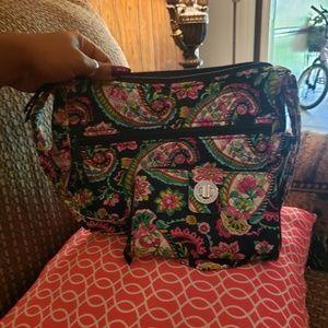 Vera bradley purse/ wallet set